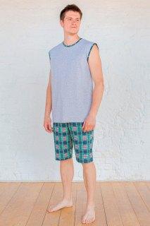Купить Пижама мужская 000100033 в розницу