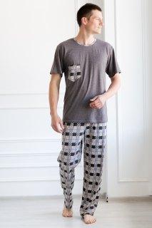 Купить Пижама мужская 000100072 в розницу
