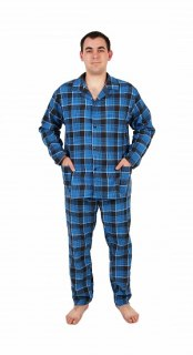 Купить Пижама мужская( фланель) 000100085 в розницу