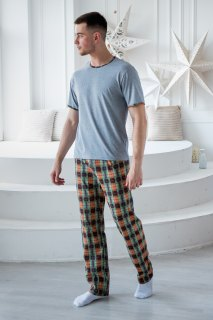 Купить Пижама мужская 000100102 в розницу