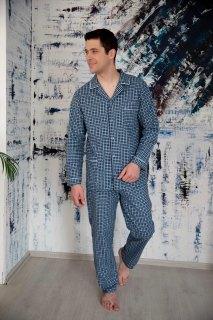 Купить Пижама мужская 000100103 в розницу