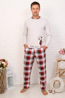 Купить Пижама мужская 000100104 в розницу