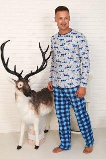 Купить Пижама мужская 000100105 в розницу