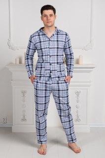 Купить Пижама мужская из футера 000100122 в розницу
