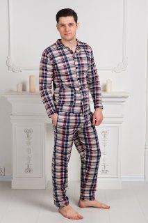 Купить Пижама мужская из футера 000100123 в розницу