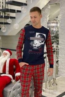 Купить Пижама мужская 000100129 в розницу
