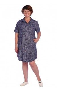 Купить Рубашка-туника женская 002602196 в розницу