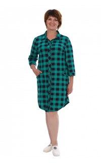 Купить Рубашка-туника женская 002602216 в розницу