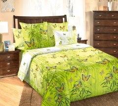 Купить КПБ Бязь 2-спальное с европростыней 006700502 в розницу