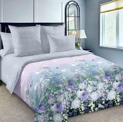 Купить КПБ Перкаль 2-спальное с европростыней 006800230 в розницу
