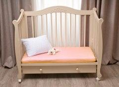 Купить Простынь на резинке в дет. кроватку 007100042 в розницу