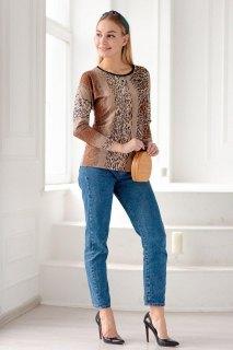 Купить Блуза женская 015100267 в розницу