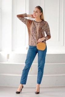 Купить Блуза женская 015200449 в розницу