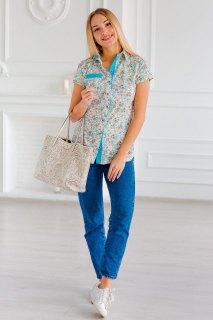 Купить Блуза женская  015300758 в розницу