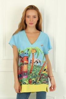 Купить Блуза женская 015300786 в розницу