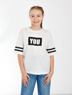 Купить Футболка для девочки 024901583 в розницу