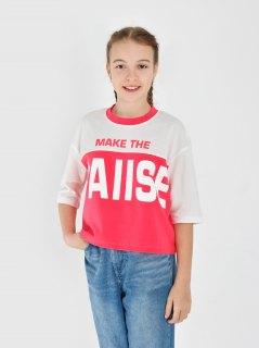 Купить Футболка для девочки 024901594 в розницу