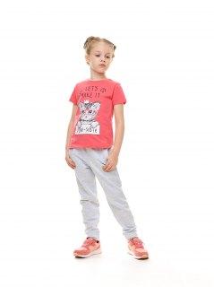 Купить Брюки для девочки 025300420 в розницу