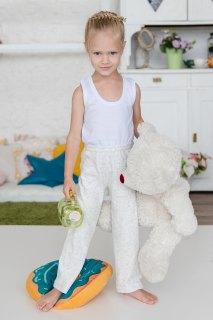 Купить Брюки детские из махры 025300442 в розницу