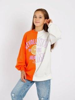 Купить Толстовка для девочки 025600331 в розницу