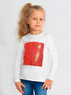 Купить Лонгслив для девочки 026200579 в розницу