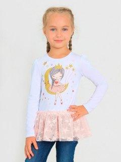 Купить Лонгслив для девочки 026200590 в розницу