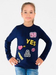 Купить Лонгслив для девочки 026200594 в розницу