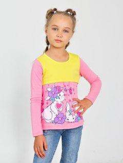 Купить Лонгслив для девочки 026200666 в розницу