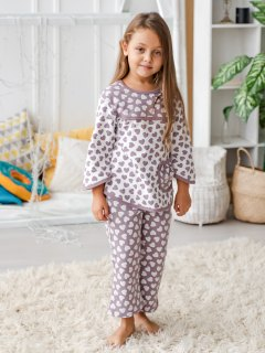 Купить Пижама детская из футера 026400707 в розницу