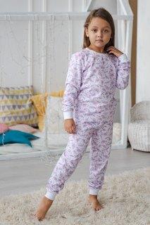 Купить Пижама детская из футера 026400711 в розницу