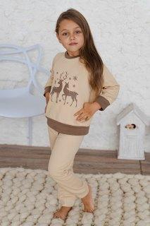 Купить Пижама детская из футера 026400712 в розницу