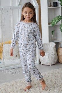 Купить Пижама детская из футера 026400714 в розницу