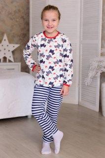 Купить Пижама детская из футера с начесом 026400720 в розницу