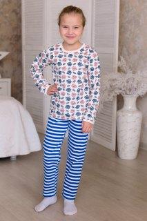 Купить Пижама детская из футера с начесом 026400721 в розницу