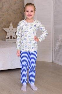Купить Пижама детская из футера с начесом 026400722 в розницу