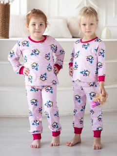 Купить Пижама подростковая из кулирки 026400756 в розницу