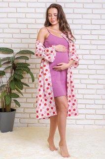 Купить Комплект женский халат+сорочка 036400003 в розницу