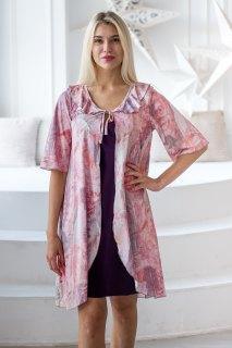 Купить Комплект из пеньюара и сорочки 036400007 в розницу