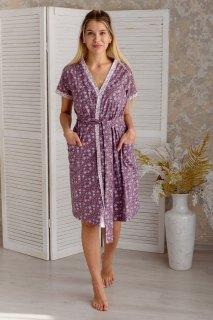 Купить Комплект из пеньюара и сорочки 036400052 в розницу