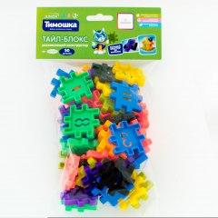 Купить Развивающий конструктор «Тайл-Блокс» 50 деталей (Возраст 3+) 037500071 в розницу