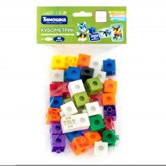 Купить Развивающий конструктор «Кубометрик» 40 деталей (Возраст 3+) 037500084 в розницу