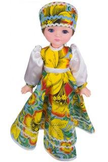 Купить Кукла Василина хохлома 037700052 в розницу