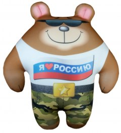 Купить Антистрессовая игрушка Мишка Крутышка 037900057 в розницу