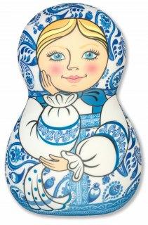 Купить Антистрессовая игрушка-подушка Матрешка 037900076 в розницу