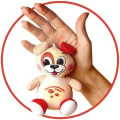 Купить Антистрессовая игрушка-брелок Трогательные зверюшки Собака 037900096 в розницу