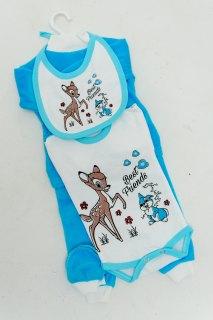 Купить Набор для новорожденного из велюра 042200191 в розницу