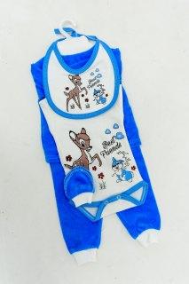 Купить Набор для новорожденного из велюра 042200192 в розницу
