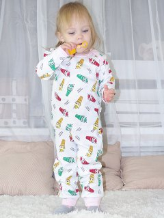 Купить Пижама для девочки  042200197 в розницу