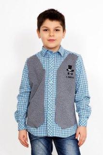 Купить Рубашка для мальчика 049000546 в розницу