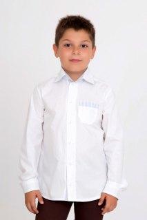 Купить Рубашка для мальчика школьная 049000550 в розницу